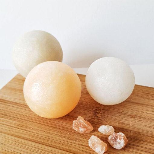 آباژور سنگ نمک مدل کروی فروشگاه کارنیکا