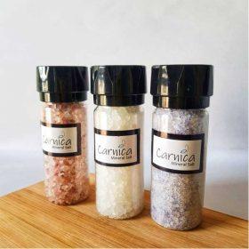 ست سه عددی نمکساب به همراه ۱۵۰ گرم نمک معدنی کارنیکا