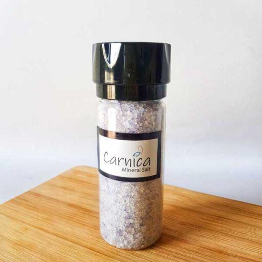 نمکساب به همراه ۱۵۰ گرم نمک معدنی آبی مات سمنان کارنیکا
