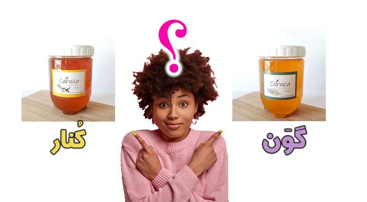 تفاوت عسل گون و کنار سایت کارنیکا