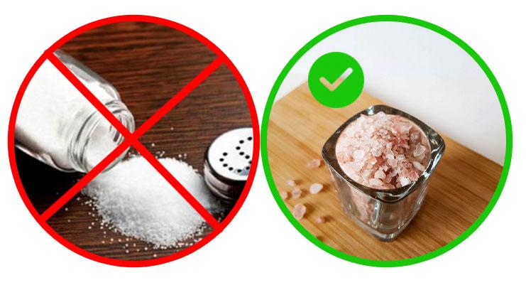 نمک صورتی جایگزین سالم تر نمک معمولی | سایت کارنیکا
